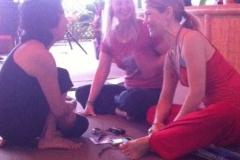Elizabeth Teaching at Ram Dass Winter Retreat 2010