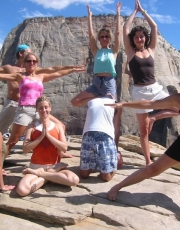 Asana On The Mountain