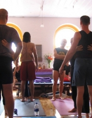 John Friend at Shriyoga