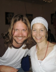 Elizabeth and Johnny at Kundalini Graduation