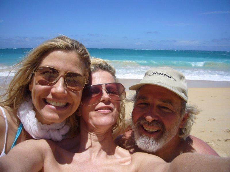 Elizabeth, Yvonne and Ed