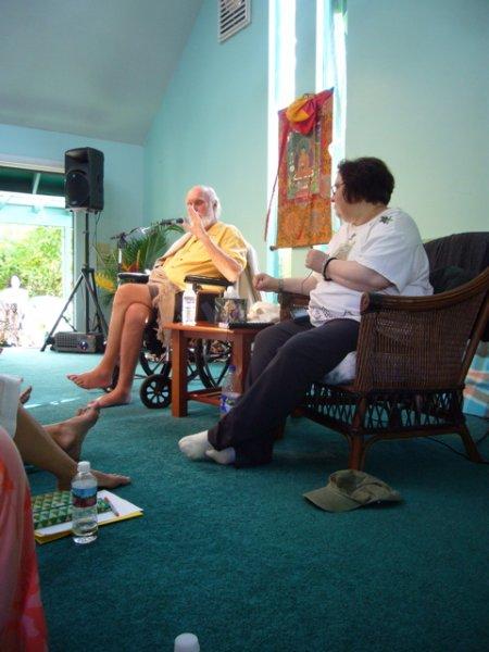 Ram Dass and Sharon