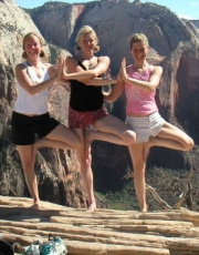 Mountaintop Tree Pose