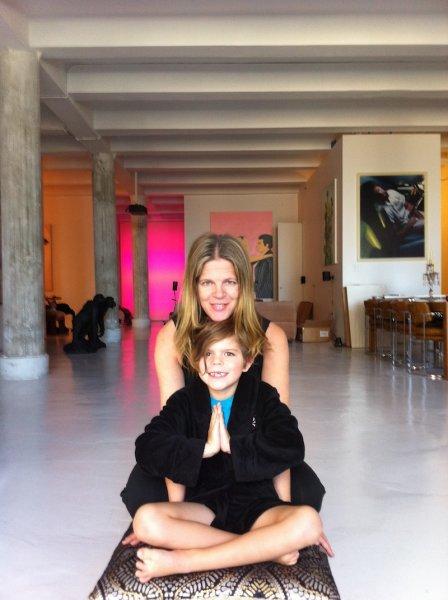 Yvonne and Cuatro at Shri Loft Y