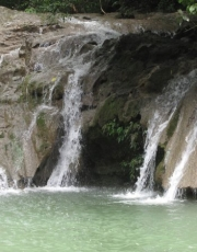 The Sanctuary at Two Rivers is in the midst of glorious waterfalls.