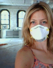 Elizabeth with Mask