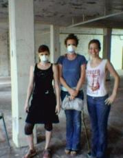 Sadie, Elizabeth and Cari